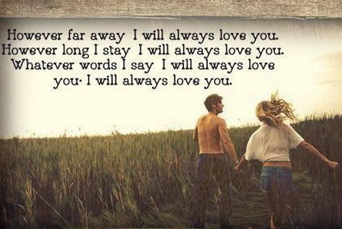Love messages and distance 35+ Love