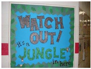 Animal Door Decorations Classroom