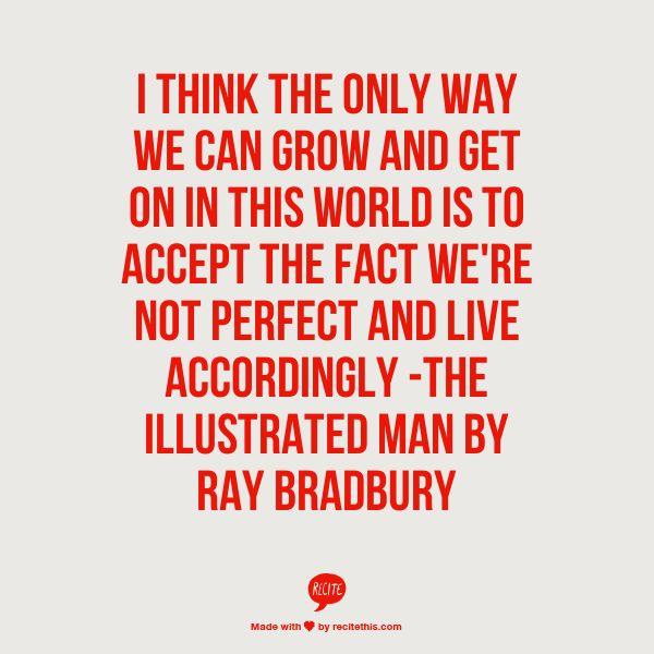 Illustrated Book Cover Quote ~ Ray bradbury books quotes quotesgram