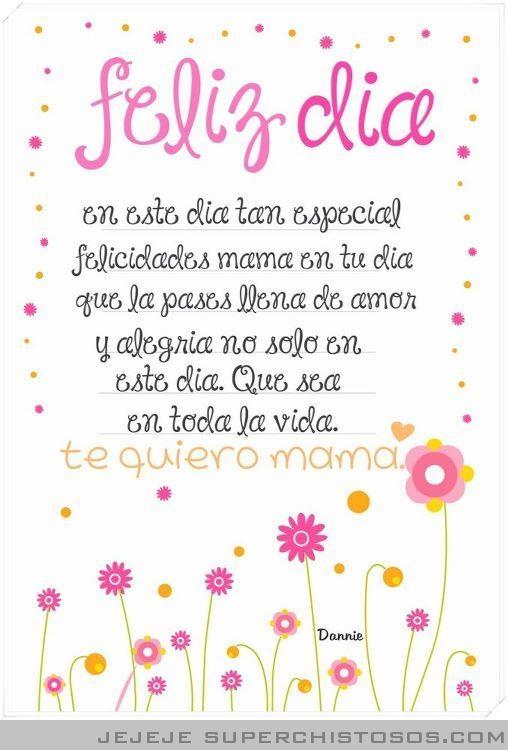 Dia De Las Madres Quotes Quotesgram Pero pese a todo, nuestras mamás ¡siempre están ahí! dia de las madres quotes quotesgram
