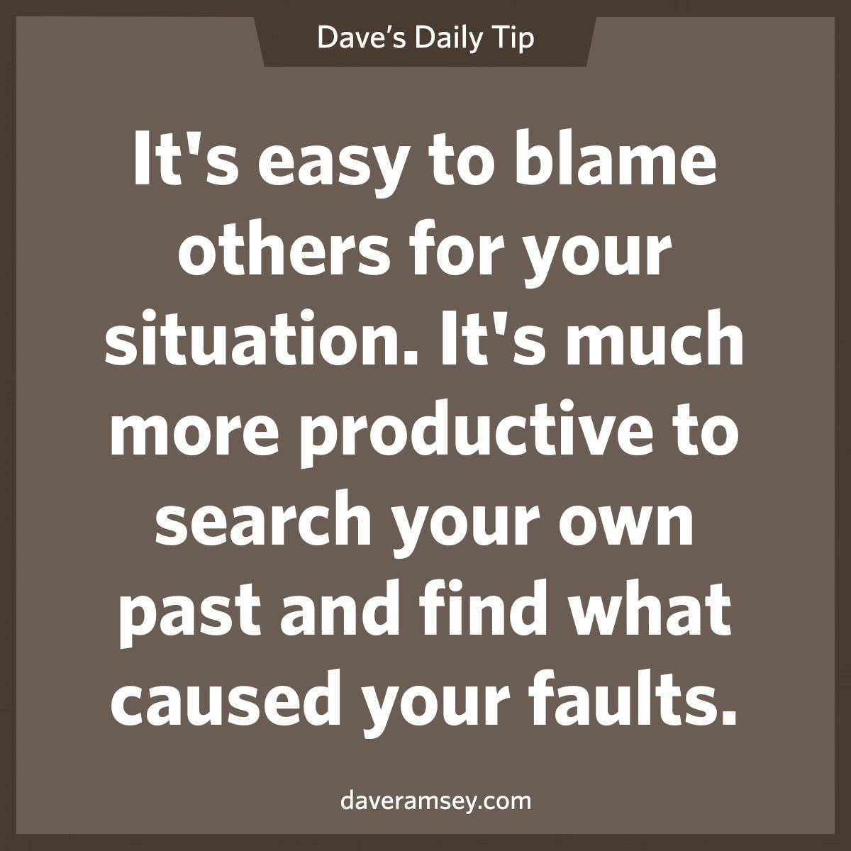 Stop Blaming Others Quotes Quotesgram
