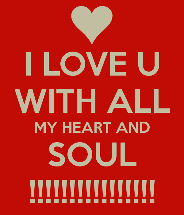 I Love U Sayings And Quotes: I Love You With All My Heart Quotes. QuotesGram