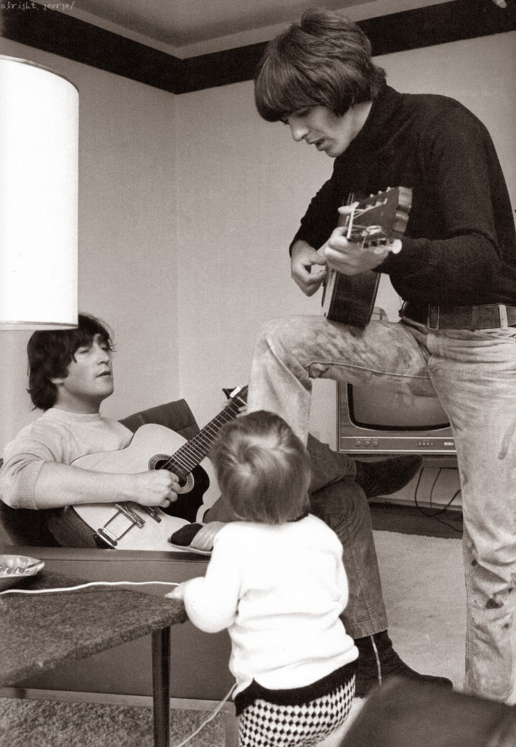 Julian Lennon And George Harrison Funny Quotes Andjohn L...