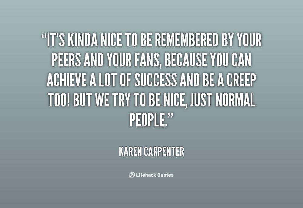 Karen Carpenter Quotes. QuotesGram