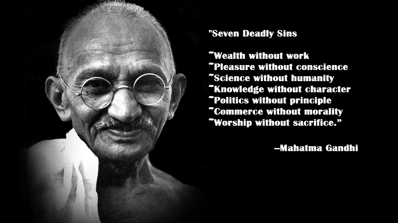 Inspirational Quotes By Gandhi Quotesgram