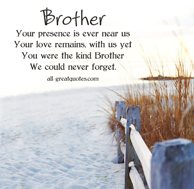 Sad I Miss You Quotes For Friends: In Memory Of My Brother Quotes. QuotesGram