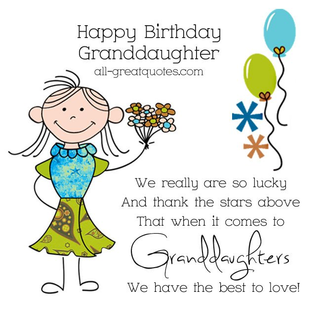 Happy 13th Birthday Granddaughter Quotes Quotesgram