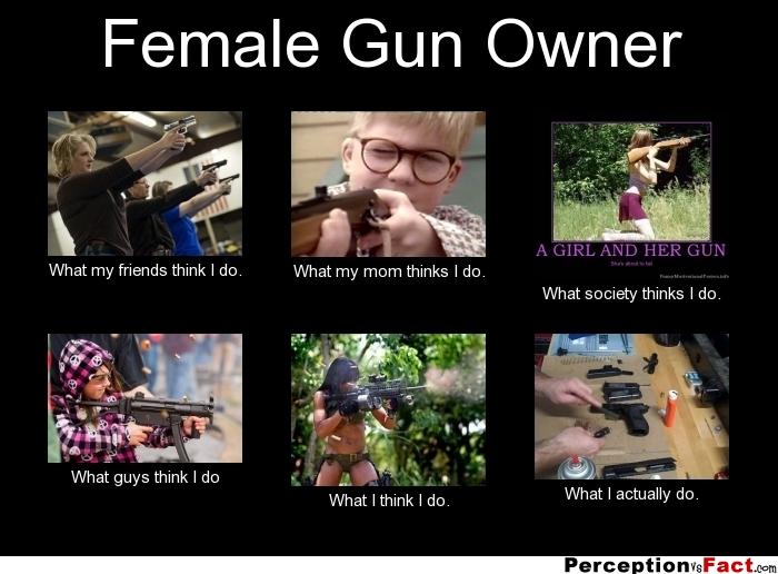 Woman Gun Quotes