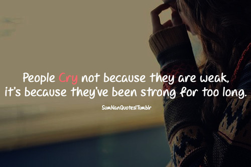 Sad Crying Quotes About Love: Girl Crying Quotes About Love. QuotesGram
