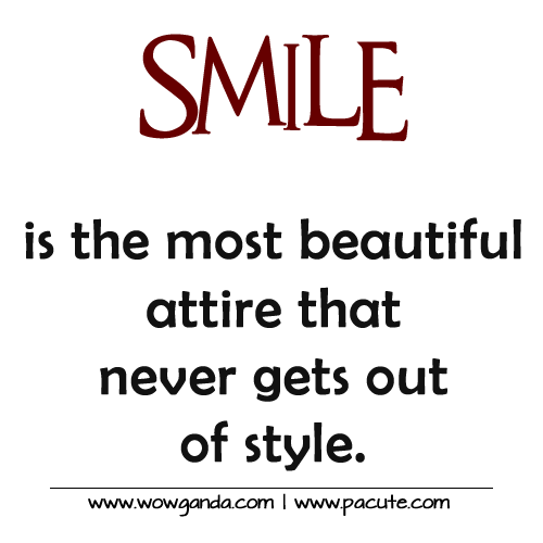 Quotes About Smiling: Inspirational Smile Quotes. QuotesGram
