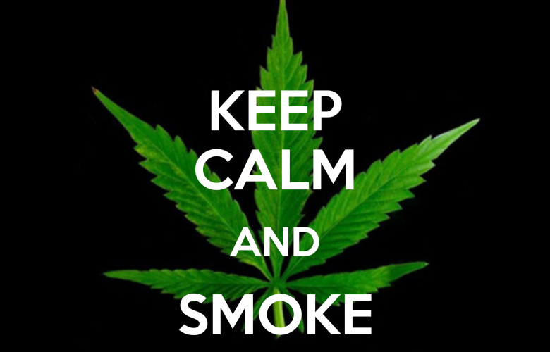 Weed Wallpaper Quotes Keep Calm Smoke Weed Q...