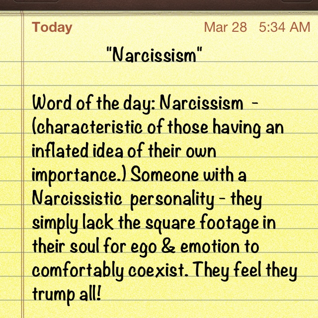 narcissistic personality disorder famous people