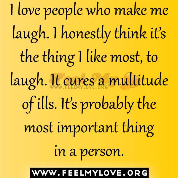People Make Me Laugh Quotes. QuotesGram