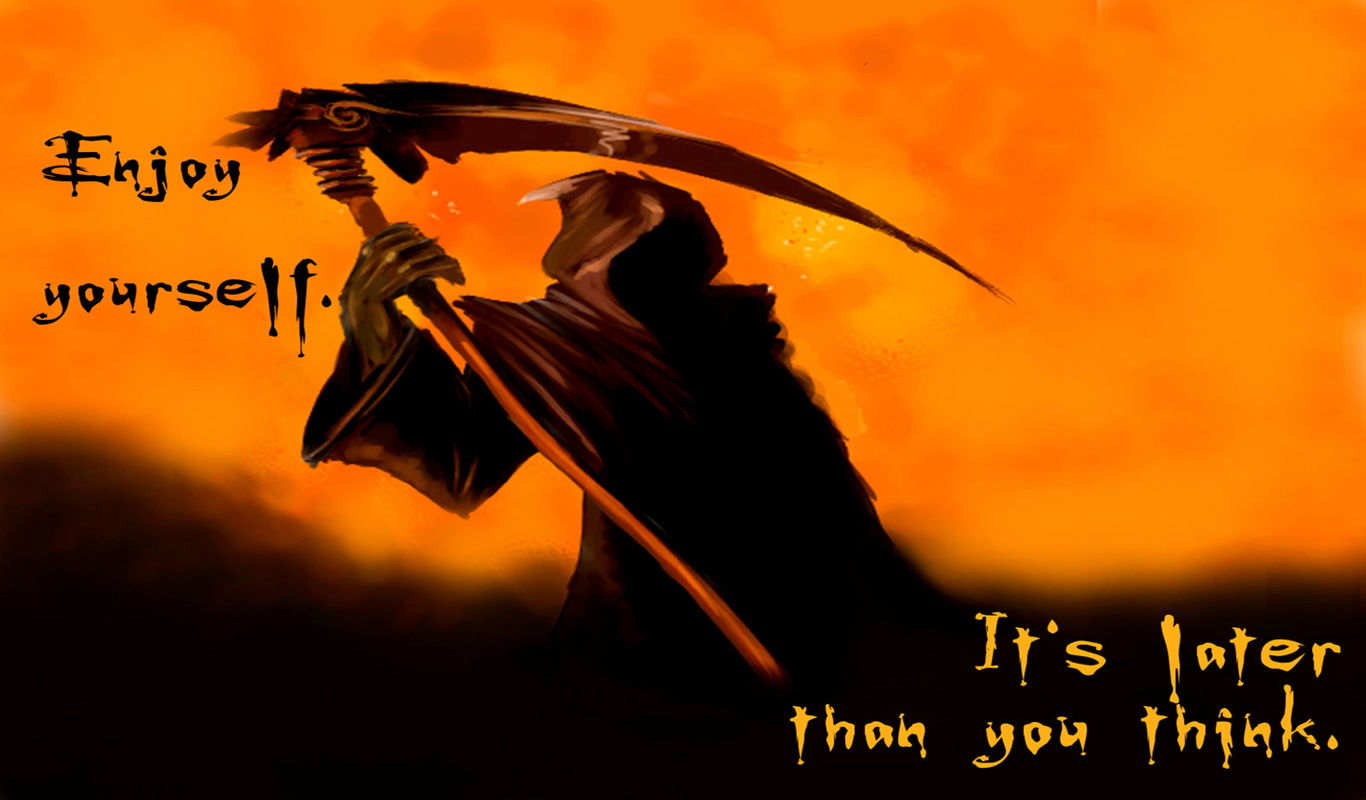 Grim Reaper Sayings Quotes Quotesgram