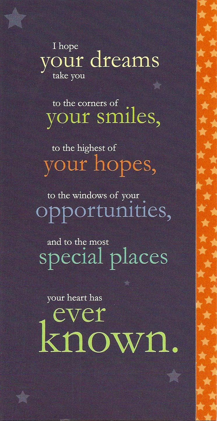 Sayings For Graduation: Inspirational Quotes For Graduation Cards. QuotesGram