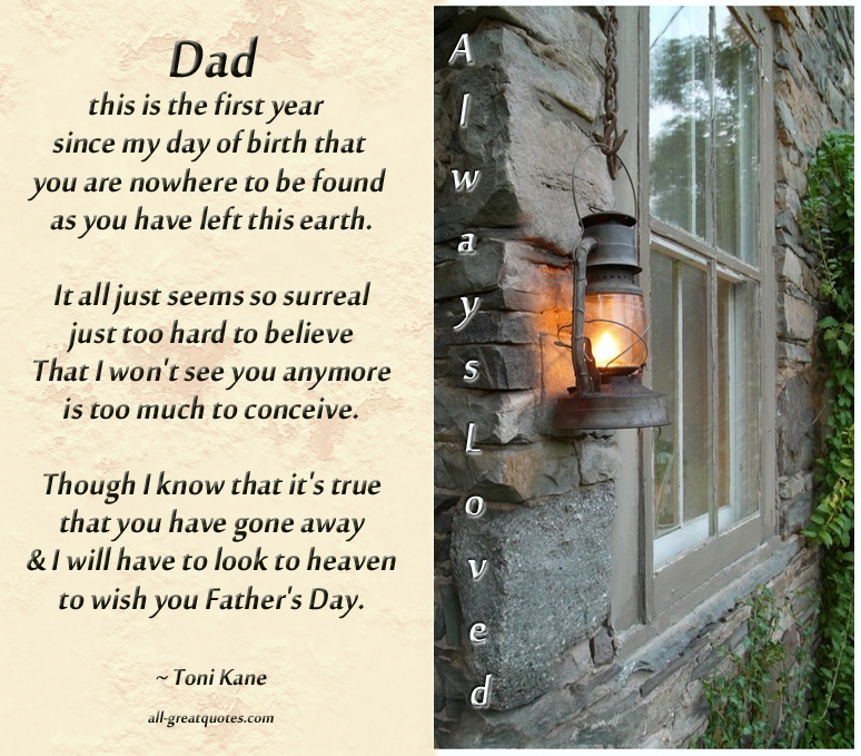 In Memory Dad Parent Daddy: In Loving Memory Father Quotes. QuotesGram