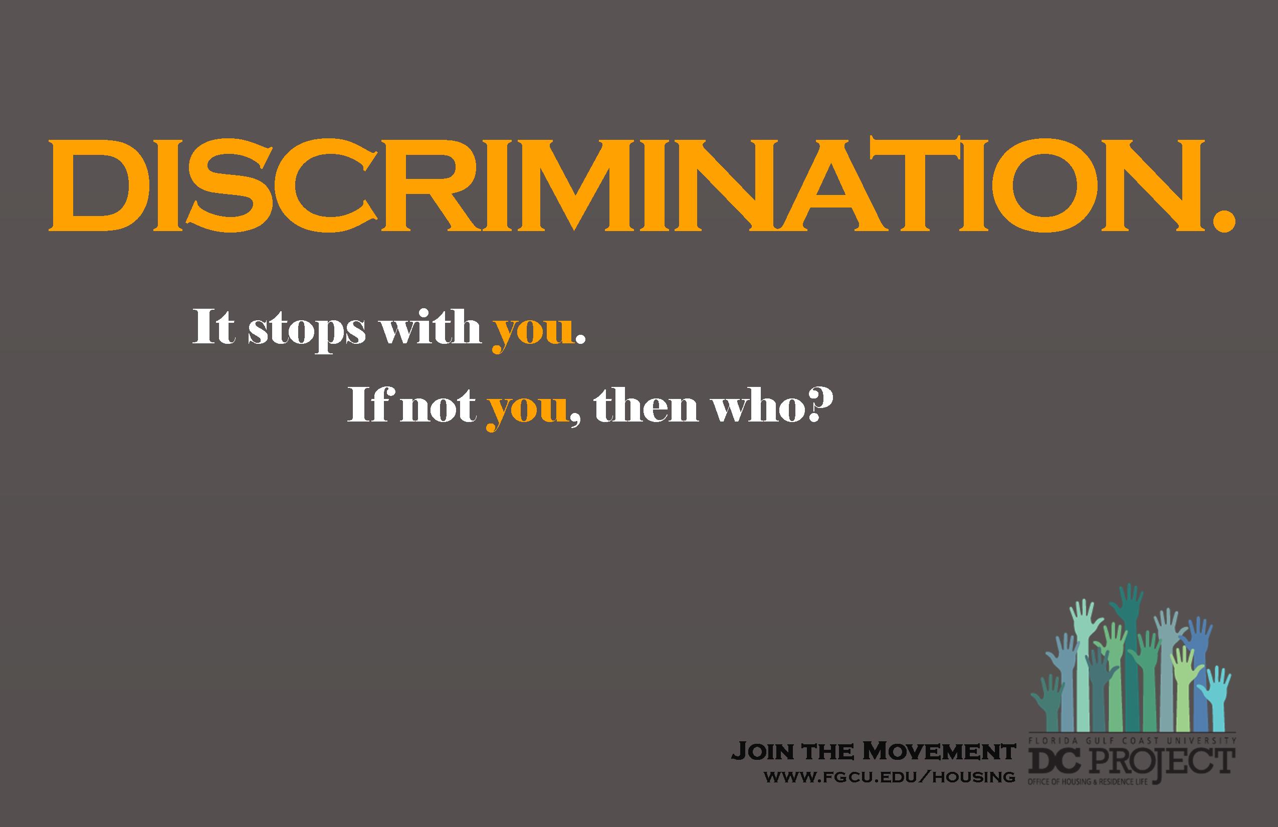 Discrimination Quotes. QuotesGram