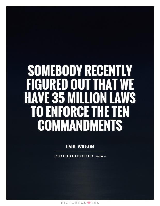 Ten Commandments Quotes