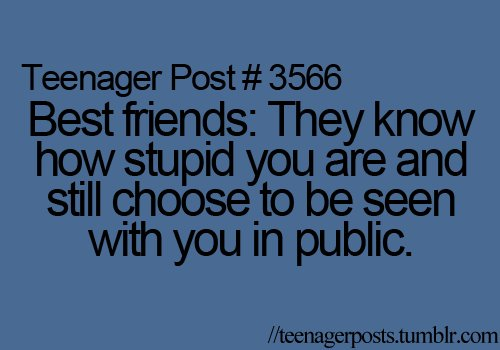 Teenager Posts Of The Week: Snapchat Rules And Blogging ... |Teenager Post About Friendship