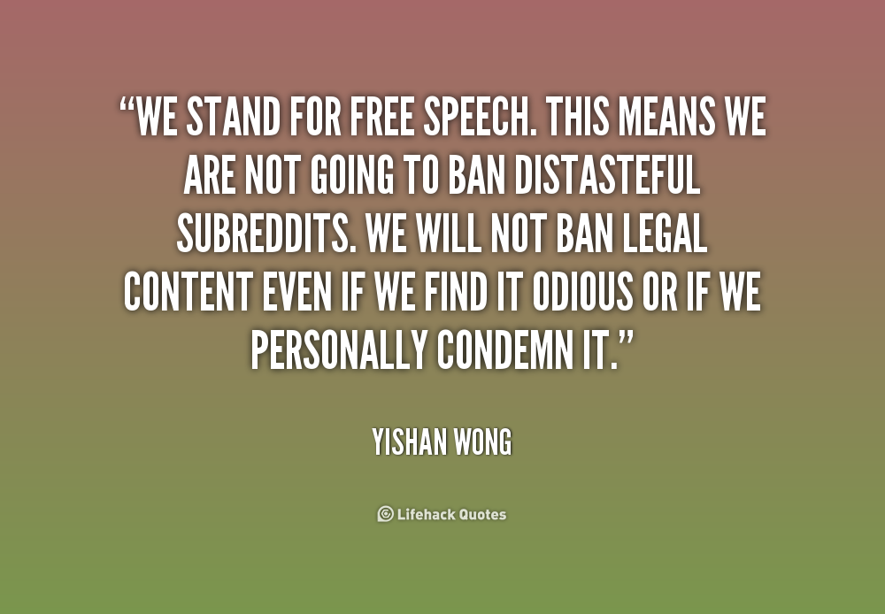 freedom of speech vs censorship on Freedom of speech definition is - the  and fourteenth amendments to the us constitution — see also free speech — compare censorship,  vs 'hanger' learn.