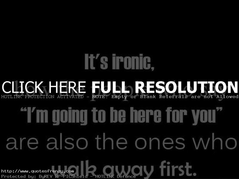 Life Is Ironic Quote: Ironic Inspirational Quotes. QuotesGram