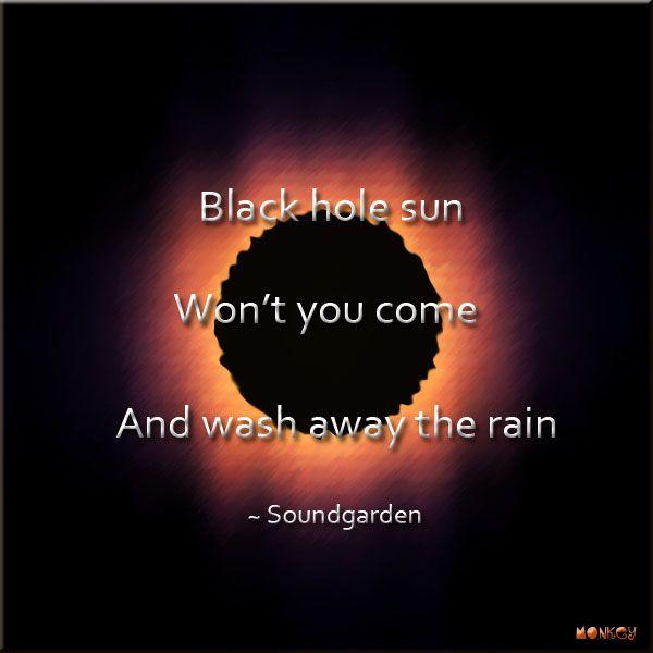 black hole sun lyrics - 600×600