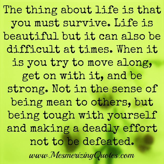 Life Quotes Can Be Difficult. QuotesGram