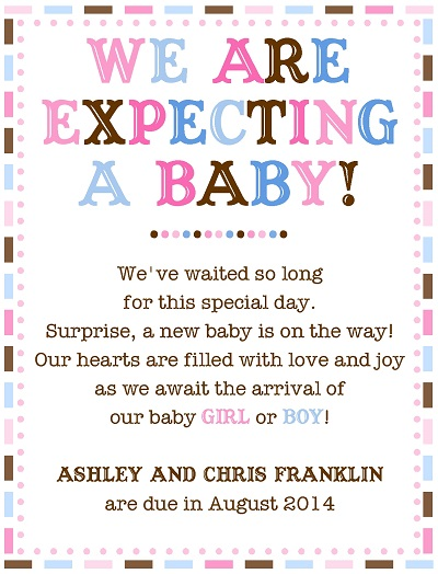 Expecting A New Baby Quotes Quotesgram