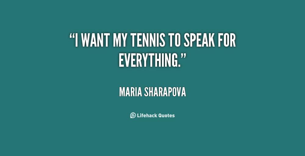 Tennis Quotes Quotesgram