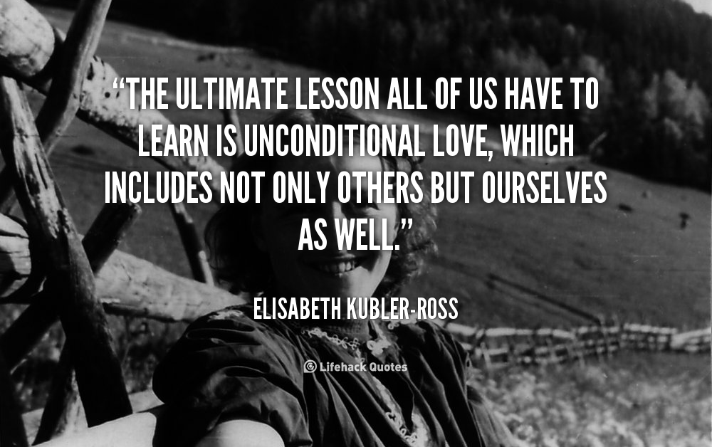 on the fear of death by elisabeth kubler ross