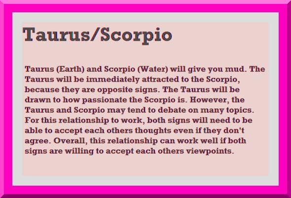 taurus best love match compatibility Love match compatibility between taurus man and taurus woman read about the taurus male love relationship with taurus female.