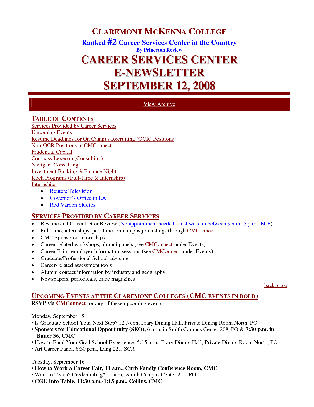 resume example investment banking careerperfect award winning ceo sample writer executive cover letter for summer internship - Award Winning Resume Samples