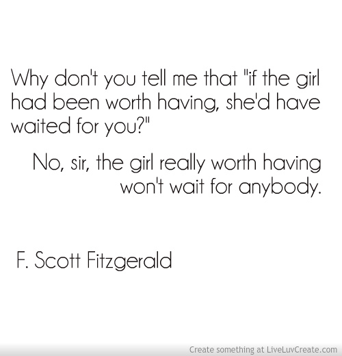 An analysis of life direction in the great gatsby by f scott fitzgerald