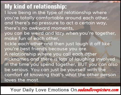comfortable relationship quotes