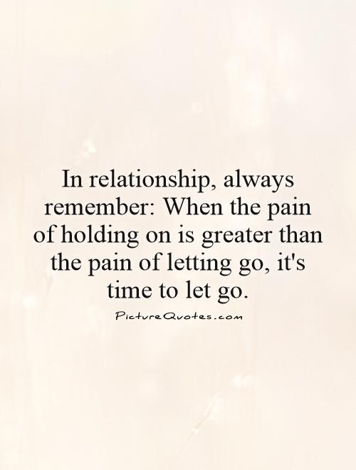 let go of a relationship quotes and images