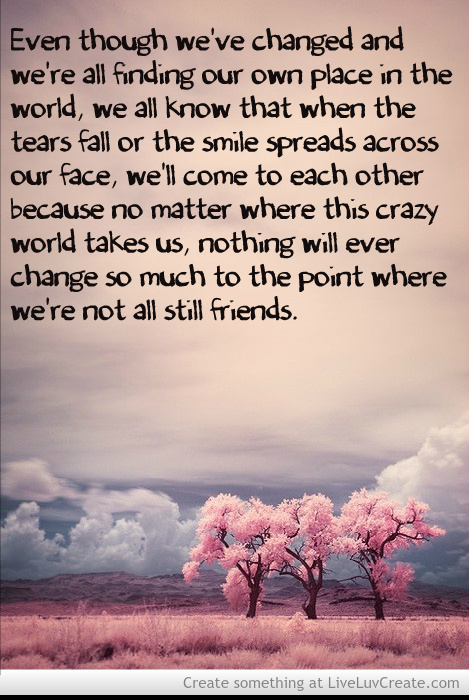 quotes about friendships lasting forever relationship