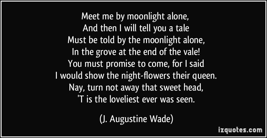 Moonlight Quotes. QuotesGram