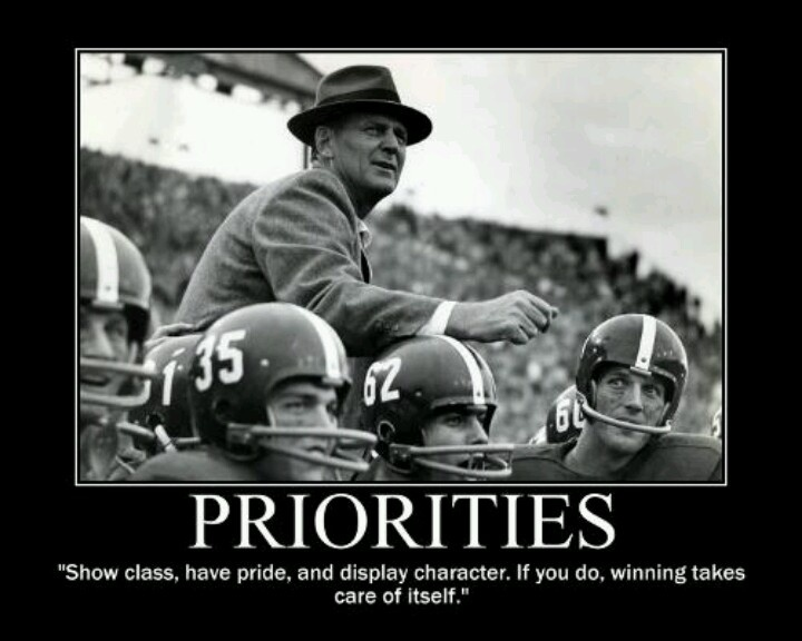 Class Act Movie Quotes: Quotes By Bear Bryant Roll Tide. QuotesGram