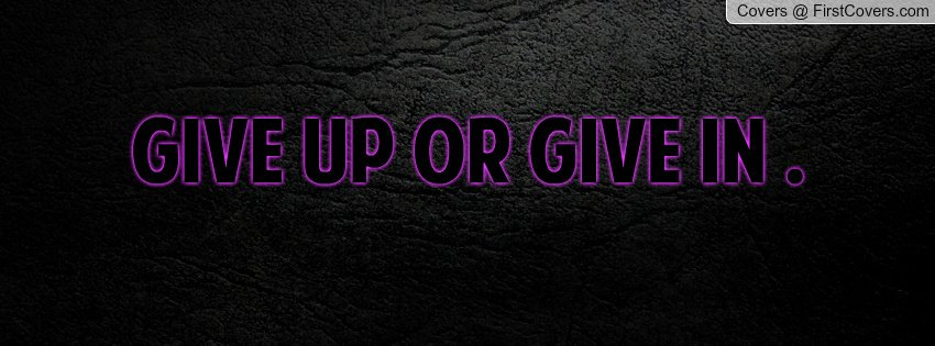 Emo Quotes About Giving Up
