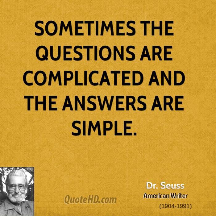 Dr Seuss Quote: Seuss Quotes About Questions. QuotesGram