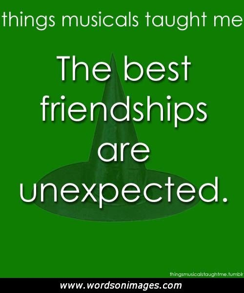 When Things Happen Unexpectedly Quotes: Unexpected Friendship Quotes. QuotesGram