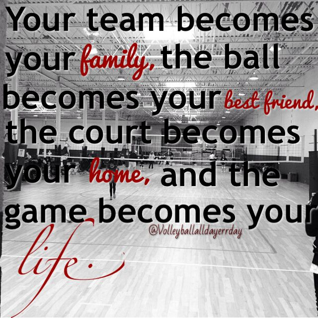 Motivational Quotes For Sports Teams: Volleyball Sport Quotes Inspirational. QuotesGram