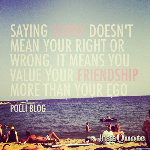 Quotes About Saying Sorry And Not Meaning It: Sad Insta Quotes. QuotesGram