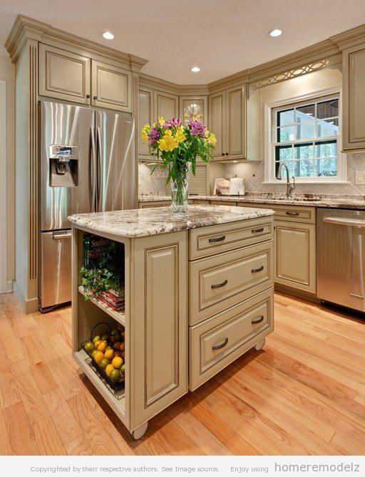 Small Kitchen Designs with Islands