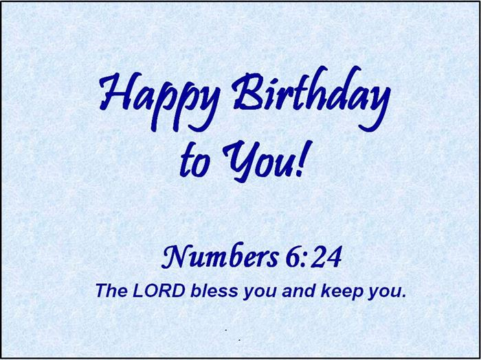 Biblical Quotes For Birthday Wishes. QuotesGram