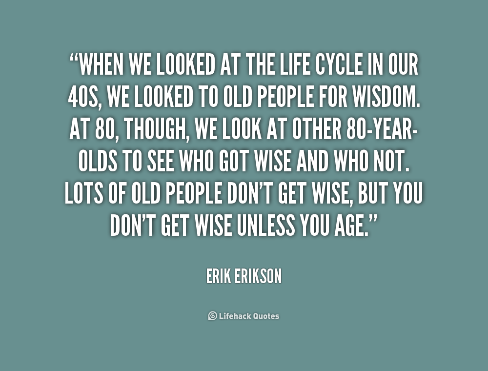 "the life of erik erikson When i was in the midst of the ""who am i""/""what am i going to do with my life"" muddle, i began to read erik erikson's book, identity: youth and crisisit was a huge relief to learn that i was not experiencing something atypical."