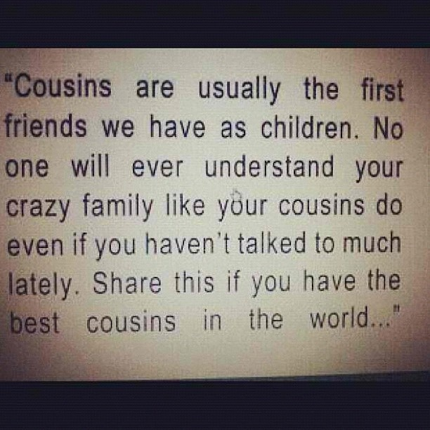 I Love You Quotes: I Miss My Cousin Quotes. QuotesGram