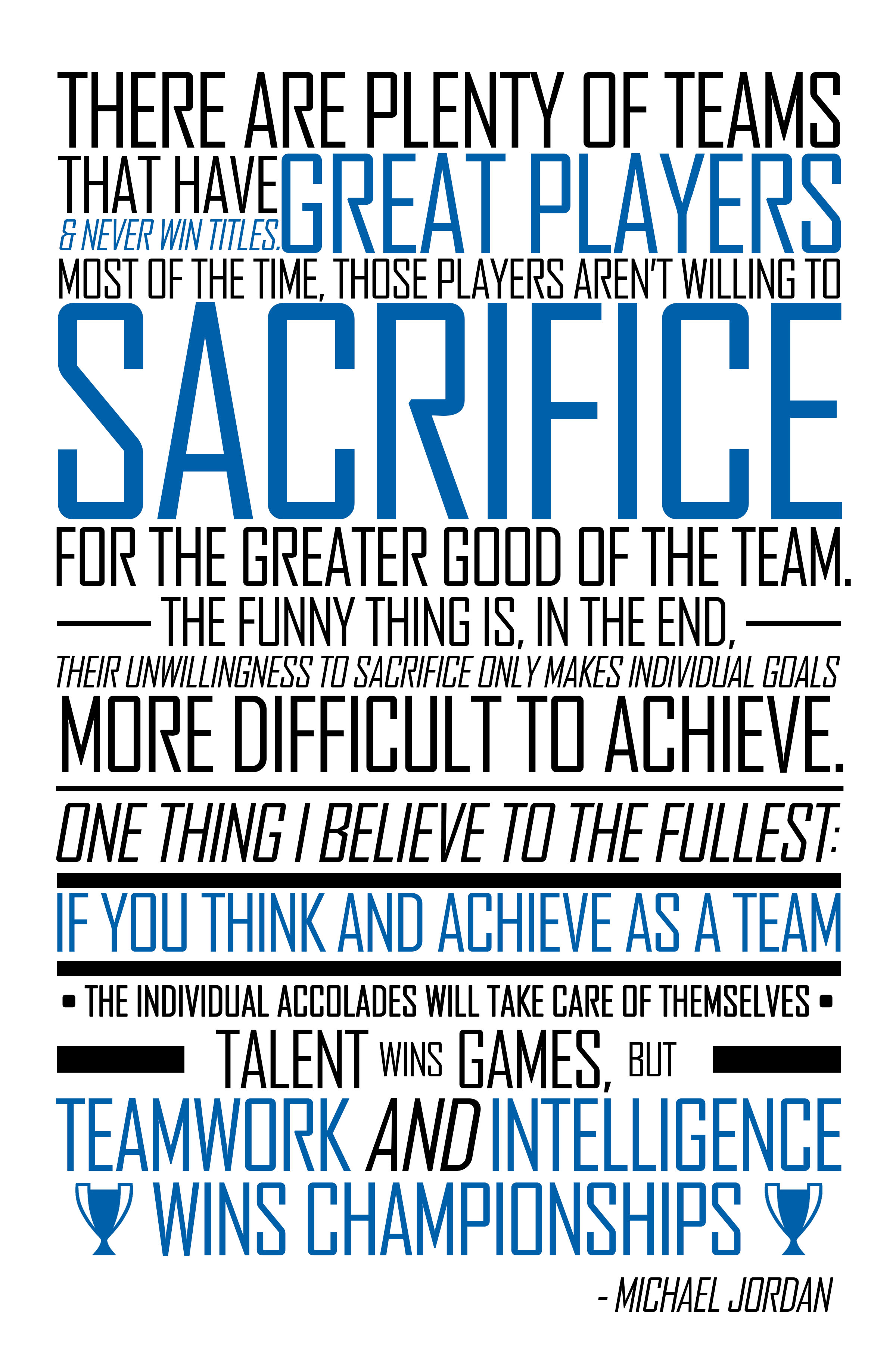 Motivational Quotes For Sports Teams: From Michael Jordan Quotes About Teammates. QuotesGram