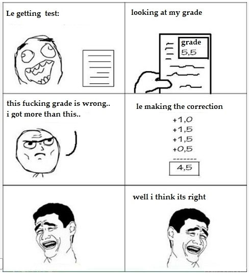 Funny Quotes About School Tests: Funny Waiting Quotes On Grades. QuotesGram
