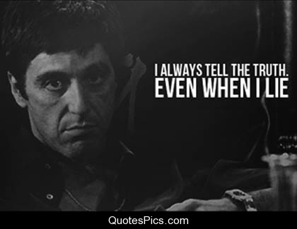 Bad Guy Scarface Quotes. QuotesGram | 420 x 325 jpeg 31kB